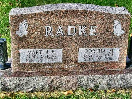 RADKE, DORTHA MAXINE - Madison County, Iowa | DORTHA MAXINE RADKE
