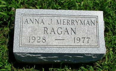 RAGAN, ANNA JEAN - Madison County, Iowa | ANNA JEAN RAGAN