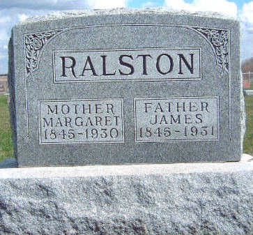 RALSTON, JAMES - Madison County, Iowa | JAMES RALSTON