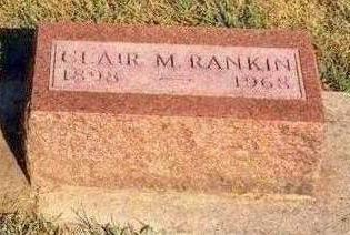 RANKIN, CLAIR MAX - Madison County, Iowa | CLAIR MAX RANKIN