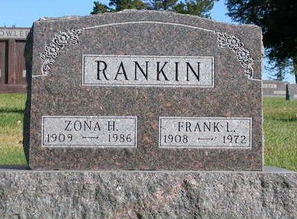 RANKIN, ZONA HAZEL - Madison County, Iowa | ZONA HAZEL RANKIN