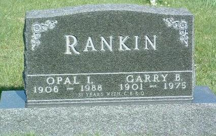 RANKIN, OPAL IRENE - Madison County, Iowa | OPAL IRENE RANKIN