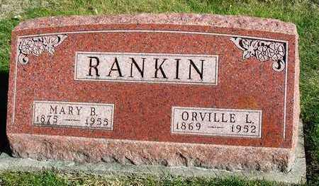 RANKIN, ORVILLE L. - Madison County, Iowa | ORVILLE L. RANKIN