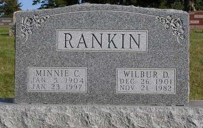 RANKIN, MINNIE C. - Madison County, Iowa | MINNIE C. RANKIN