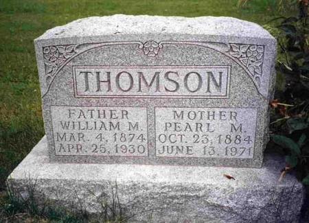 RASH THOMSON, PEARL MILDRED - Madison County, Iowa | PEARL MILDRED RASH THOMSON