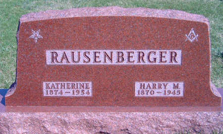 RAUSENBERGER, HARRY MARTIN - Madison County, Iowa | HARRY MARTIN RAUSENBERGER