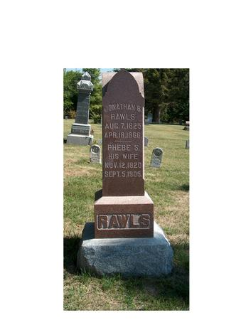 COFFIN RAWLS, PHEBE S. - Madison County, Iowa | PHEBE S. COFFIN RAWLS