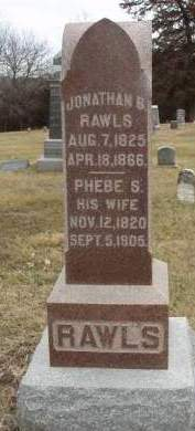 RAWLS, PHEBE S. - Madison County, Iowa | PHEBE S. RAWLS