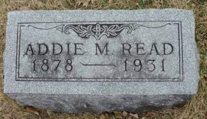 READ, ADDIE M. - Madison County, Iowa | ADDIE M. READ