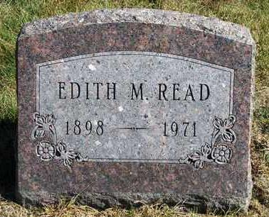 SCOTT READ, EDITH MAE - Madison County, Iowa | EDITH MAE SCOTT READ