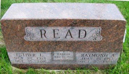 READ, RAYMOND A. - Madison County, Iowa | RAYMOND A. READ