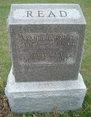 READ, MARY JANE - Madison County, Iowa | MARY JANE READ