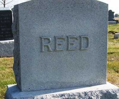 REED, FAMILY HEADSTONE - Madison County, Iowa | FAMILY HEADSTONE REED