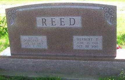 REED, DOROTHY LUCILLE - Madison County, Iowa | DOROTHY LUCILLE REED