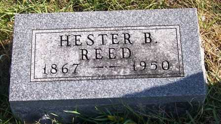 REED REED, HESTER B. (HATTIE) - Madison County, Iowa | HESTER B. (HATTIE) REED REED