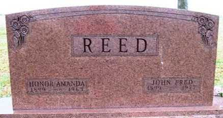 CREGER REED, HONORA AMANDA - Madison County, Iowa | HONORA AMANDA CREGER REED
