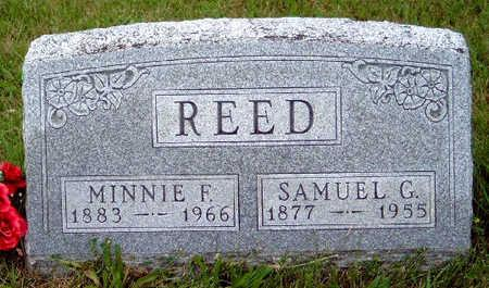 REED, MINNIE FRANCES - Madison County, Iowa | MINNIE FRANCES REED
