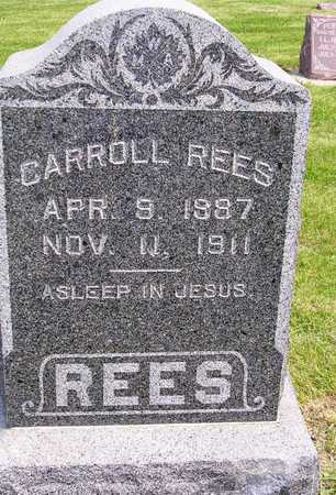 REES, CARROLL - Madison County, Iowa | CARROLL REES