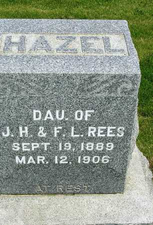 REES, HAZEL - Madison County, Iowa | HAZEL REES