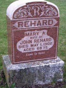 ROGERS REHARD, MARY ANN - Madison County, Iowa | MARY ANN ROGERS REHARD