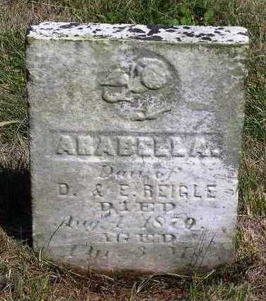 REIGLE, ARABELLA - Madison County, Iowa | ARABELLA REIGLE
