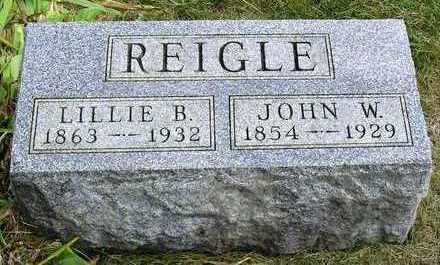 REIGLE, LILLIE BELLE - Madison County, Iowa | LILLIE BELLE REIGLE