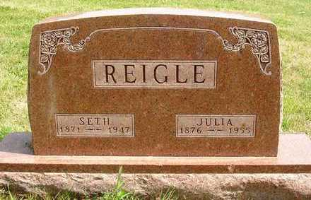 TUTTLE REIGLE, JULIA JOSEPHINE - Madison County, Iowa | JULIA JOSEPHINE TUTTLE REIGLE