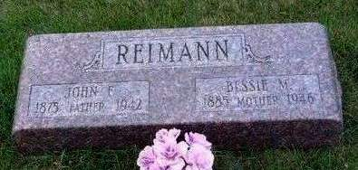 LANDERS REIMANN, BESSIE MAY - Madison County, Iowa | BESSIE MAY LANDERS REIMANN