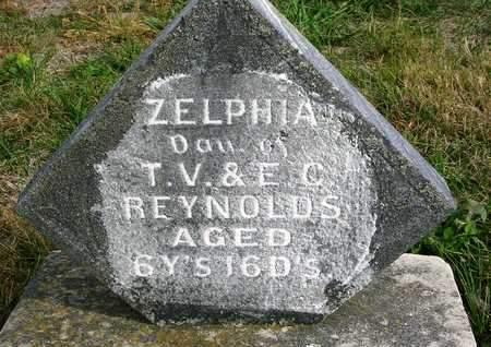 REYNOLDS, ZELPHIA LOUISE - Madison County, Iowa | ZELPHIA LOUISE REYNOLDS
