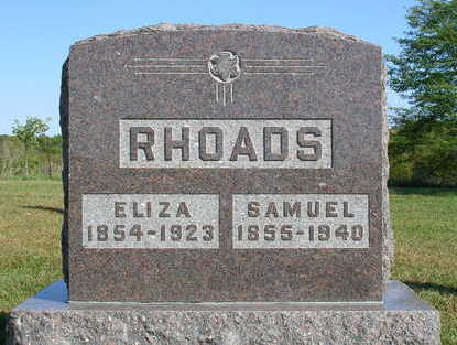 RHOADS, ELIZA - Madison County, Iowa | ELIZA RHOADS
