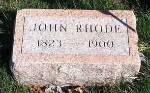 RHODE, JOHN - Madison County, Iowa | JOHN RHODE