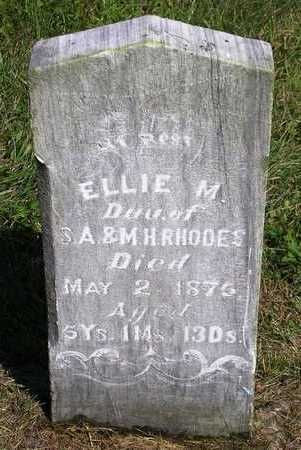 RHODES, ELLIE M. - Madison County, Iowa | ELLIE M. RHODES