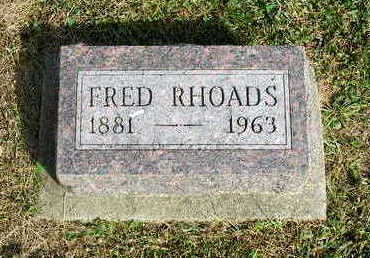 RHOADS, FRED - Madison County, Iowa | FRED RHOADS