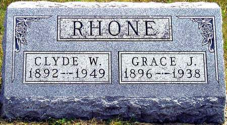 RHONE, CLYDE W. - Madison County, Iowa | CLYDE W. RHONE
