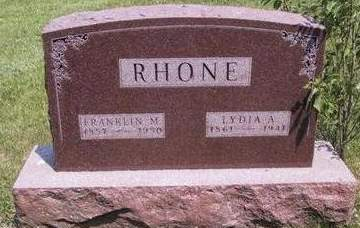 RHONE, LYDIA ANN - Madison County, Iowa | LYDIA ANN RHONE