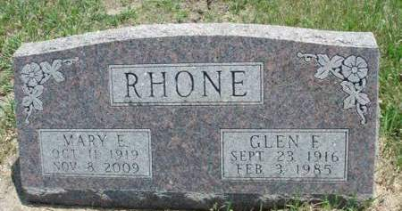 RHONE, MARY ELIZABETH - Madison County, Iowa | MARY ELIZABETH RHONE
