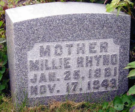 RHYNO, MILLIE LEVIA - Madison County, Iowa | MILLIE LEVIA RHYNO