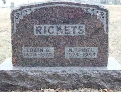 RICKETS, EDWIN GOULD - Madison County, Iowa | EDWIN GOULD RICKETS