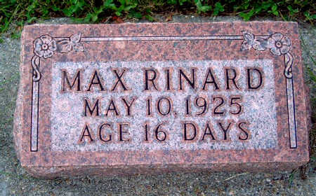 RINARD, MAX - Madison County, Iowa | MAX RINARD