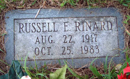 RINARD, RUSSELL EARL - Madison County, Iowa | RUSSELL EARL RINARD