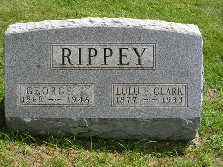 RIPPEY, GEORGE I. - Madison County, Iowa | GEORGE I. RIPPEY