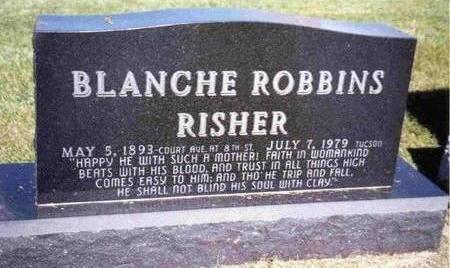 ROBBINS RISHER, BLANCHE - Madison County, Iowa | BLANCHE ROBBINS RISHER