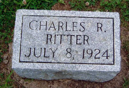 RITTER, CHARLES R. - Madison County, Iowa | CHARLES R. RITTER