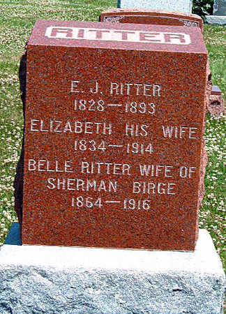 RITTER, ELIZABETH - Madison County, Iowa | ELIZABETH RITTER
