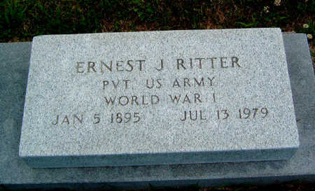 RITTER, ERNEST J. - Madison County, Iowa | ERNEST J. RITTER