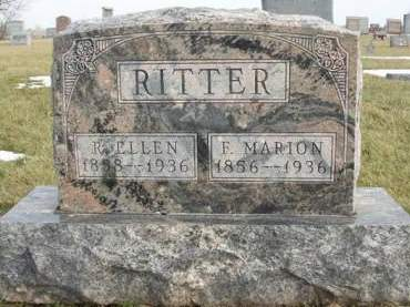 RITTER, FRANCIS MARION - Madison County, Iowa | FRANCIS MARION RITTER