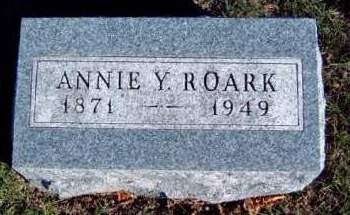 ROARK, ANNIE YOUNG - Madison County, Iowa | ANNIE YOUNG ROARK