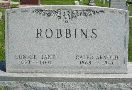 BANKS ROBBINS, EUNICE JANE - Madison County, Iowa | EUNICE JANE BANKS ROBBINS