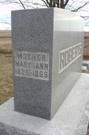 ROBERTS, MARY ANN - Madison County, Iowa | MARY ANN ROBERTS