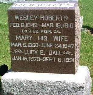 ROBERTS, WESLEY - Madison County, Iowa | WESLEY ROBERTS